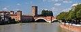 Panorama Ponte Scaligero, Castelvecchio and Adige River. Verona, Italy.jpg