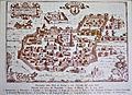 Panorama della Città di Aversa a volo d'uccello dell'anno 1650.jpg