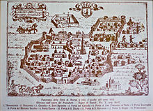 Aversa nel 1650
