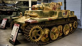 Panzer II Ausf. L in The Tank Museum