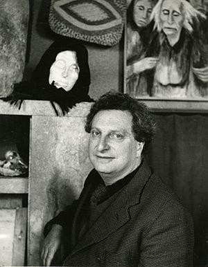 Carlo Levi - Carlo Levi in 1955. Photo by Paolo Monti (Fondo Paolo Monti, BEIC).