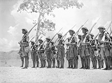 Members Of The Papuan Infantry Battalion At Port Moresby January 1941