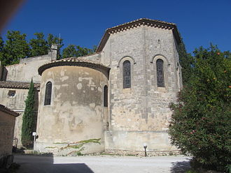 Paradou - Apses of the Church
