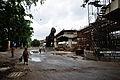 Parama-Park Circus Flyover Under Construction - John Burdon Sanderson Haldane Avenue - Science City Area - Kolkata 2012-07-31 0556.JPG