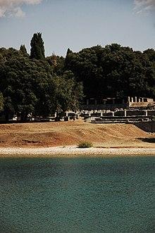 Isola Brioni Maggiore Villa Romana