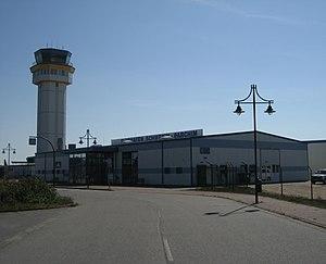 Parchim International Airport - Image: Parchim Flughafen Schwerin Parchim IMG 1430 10