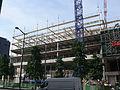 Paris - Avenue de France and rue de Tolbiac - new building (2012) above railway tracks 05.JPG
