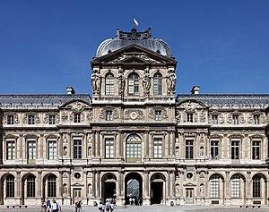 Pavillon de l'Horloge - Image: Paris Palais du Louvre Pavillon de l'Horloge 002