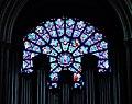 Paris Cathédrale Notre-Dame Innen Westliche Rosette 1.jpg