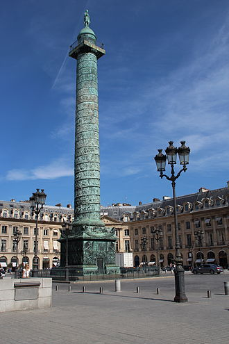 Place Vendôme - The column Vendôme