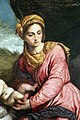 Paris bordon, madonna col bambino in trono tra iss. enrico d'uppsala e antonio da padova, 04.jpg