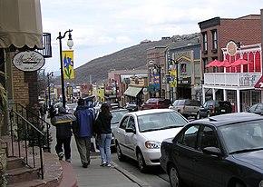Looking down Main Street, 2004