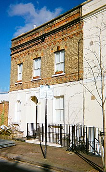 John young architect for 25 henry lane terrace