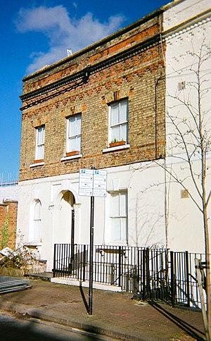 John Young (architect) - Polychromatic brick and stucco house (1865)