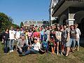 """Participanții la Școala de Vară de Software Liber """"Informatica la Castel"""" 2013.jpg"""