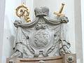 Passau Dom Grabdenkmal Thomas Johann von Thun und Hohenstein detail.jpg
