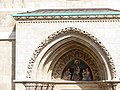 Patrona Hungariae relief by Lajos Lontay, Matthias Church 2013Budapest (298) (13228372004).jpg