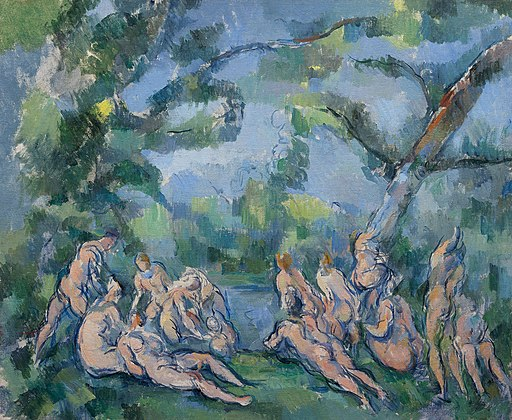 Bathers by Paul Cézanne
