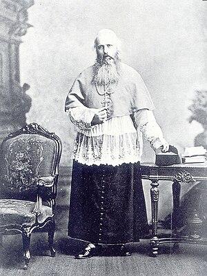 Paul Goethals - Mgr Paul Goethals, first Archbishop of Calcutta (now Kolkata)