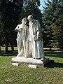 Paul III. Anton Esterházy and Gábor Klauzál by János Horvay, 2018 Dombóvár.jpg