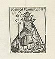 Paus Johannes XIV Joannes decimusquartus (titel op object) Liber Chronicarum (serietitel), RP-P-2016-49-66-8.jpg