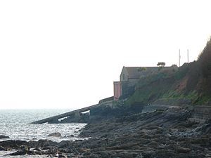 Penlee lifeboat disaster - The original Penlee Lifeboat Station, from which Solomon Browne was launched