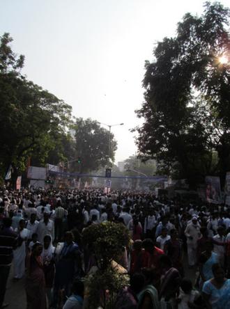 Chaitya Bhoomi - Image: People across India gathered at Chaitya Bhoomi on 6th December