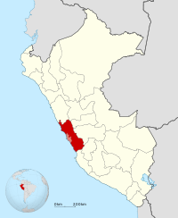 Peru - Lima Department (locator map).svg