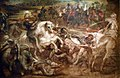 Peter Paul Rubens, Pieter Snayers - Henry IV at the battle of Ivry.jpg