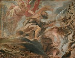 Peter Paul Rubens: Expulsion from the Garden of Eden
