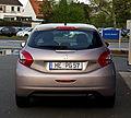 Peugeot 208 95 VTi Allure – Heckansicht (2), 28. April 2012, Ratingen.jpg