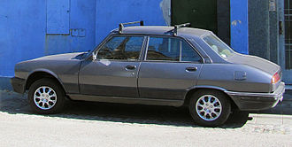 Peugeot 504 - Redesigned Argentinian version of the 504