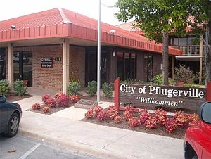 Pflugerville, Texas - Pflugerville City Hall