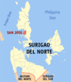 Ph locator surigao del norte san jose.png