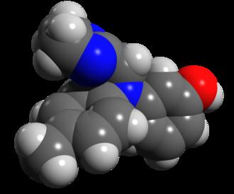 Phentolamine - Image: Phentolamine space filling