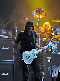Phil Campbell of Motörhead at Wacken Open Air 2013 03.jpg