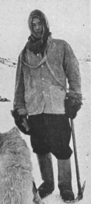 Philip Brocklehurst - Philip Brocklehurst in 1908, during the Nimrod Expedition