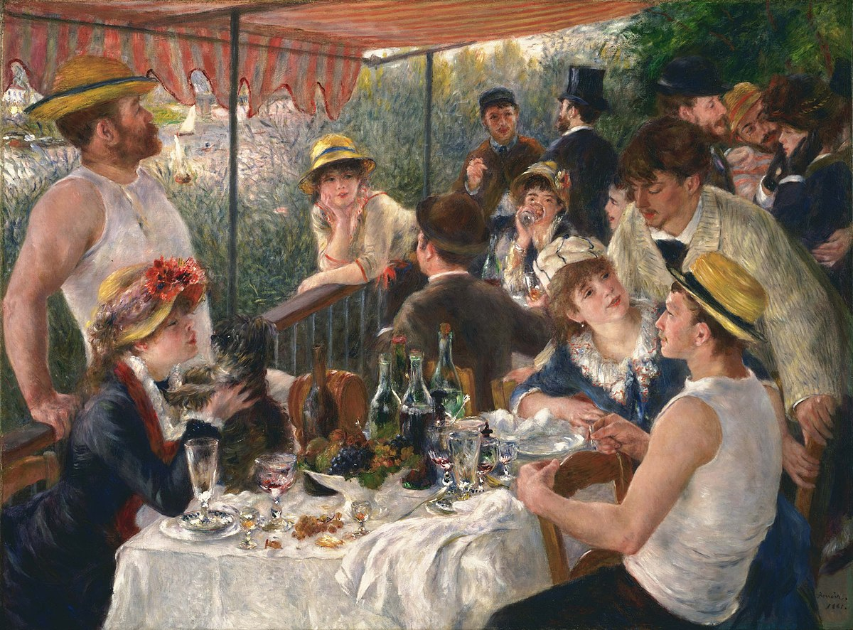 Luncheon of the Boating Party - Wikipedia
