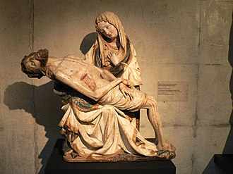 Andachtsbilder - Early Bohemian Pietà of 1390–1400
