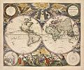 Pieter Goos - Nieuwe werelt kaert (New Map of the World).jpg
