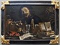 Pieter van laer (bamboccio), scena magica con autoritratto, 1638-39 ca..JPG