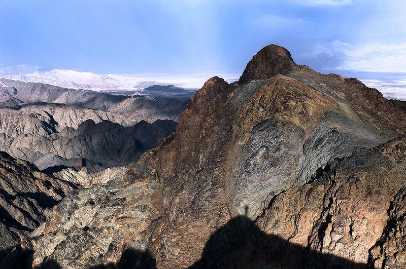 הר שלמה ביום חורף