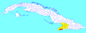 Pilón, Cuba - Image: Pilón (Cuban municipal map)