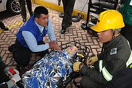 Plan Nacional de Evacuación en la Policía Nacional (6214575281).jpg