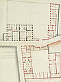 Plan du rez-de-chaussée du Petit Luxembourg avec basse-cour, 1709 project - Gallica 2011-09 (adjusted).jpg