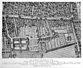 Plan of Edinburgh showing the Town's College, marled W, 1647. Wellcome M0012085.jpg