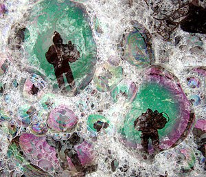 Foam - Image: Plankton creates sea foam 2