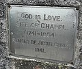 Plaque, Drumoghill Church - geograph.org.uk - 1805826.jpg