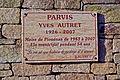 Plaque Yves Autret - parvis de Plouénan.JPG