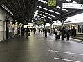 Platform of Kyobashi Station (Osaka Loop Line) 3.jpg